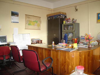 DIET Tura Principal's Room