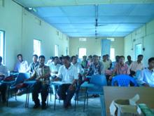Training of untrained teachers at block level