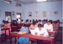 Trainees writing examinations 2007