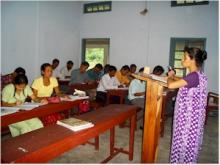 Trainees in Classroom